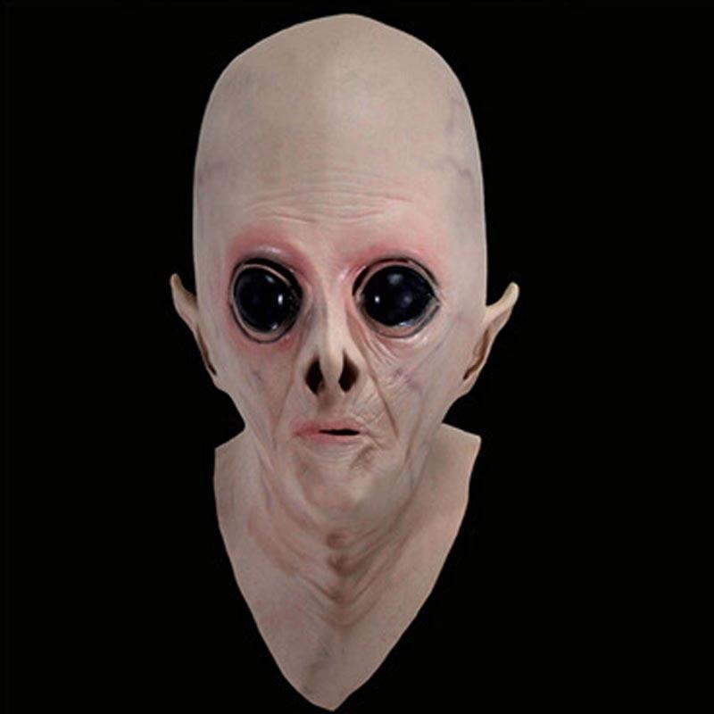Forró értékesítés ijesztő szilikon arc maszk idegen Ufo extra - Jelmezek