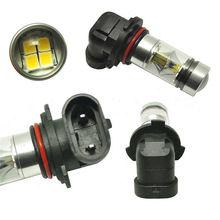2Pcs COB Car Led Fog Light Blubs H10 9145 9140 9040 9055 9155 9150 PY20D 6000K 360 Degree 1800LM/Bulb Auto Lights Lamp