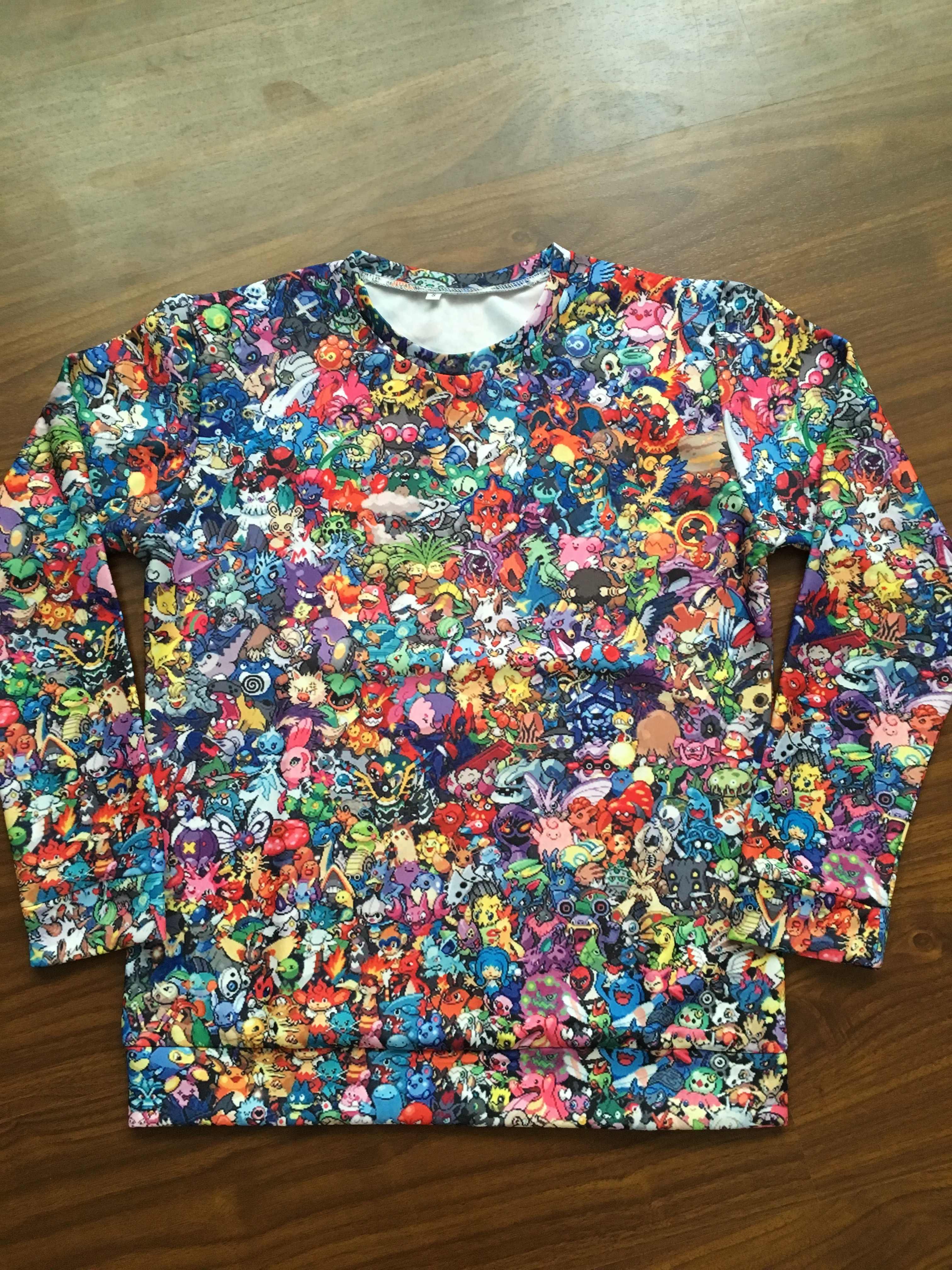 17e3094b ... PLstar Cosmos Harajuku style Men hoodies 90s Cartoon Pokemon collage 3d  Print Unisex Hoodie streetwear Casual ...