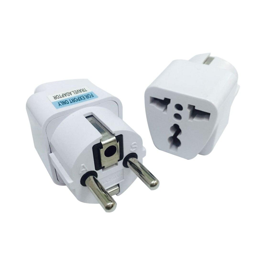 MAIF New Universal UK US AU to EU AC Power Plug Universal Travel Charger Adapter Converter