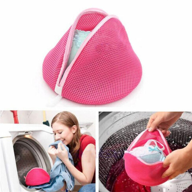 Modern Fashion High Quality Women Bra Laundry Lingerie Washing Hosiery Saver Protect Mesh Small Bag DROP SHIP 3