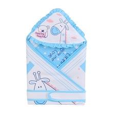 все цены на Cotton Infant Baby Sleeping Bag Envelope For Newborn Baby Bedding Wrap Sleepsack Cartoon Baby Blanket Swaddling