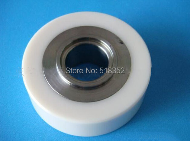 где купить SPM SP402 Stainless Steel Ceramic Pinch Roller for Korean WEDM-LS Wire Cutting Machine Spare Parts дешево