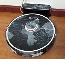 Image 3 - Roborock S6 블랙 로봇 진공 청소기 xiaomi 3st 보호 필름 스티커 용지 클리너 부품 브러시 필터에 대한 귀여운 스티커