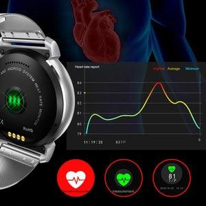 Image 4 - K88H Plus Smart Horloge Hd Display Hartslagmeter Stappenteller Fitness Tracker Mannen Smartwatch Aangesloten Voor Android Iphone