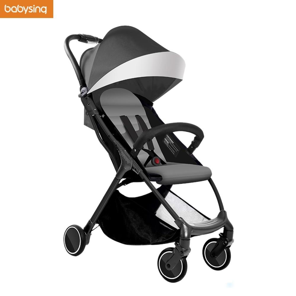 Babysing S-GO Bayi Kereta bayi Ringan Payung Foldable Portable Traveling Baby Carriage Troli Pram Pushchair Dapat Mengambil Pesawat