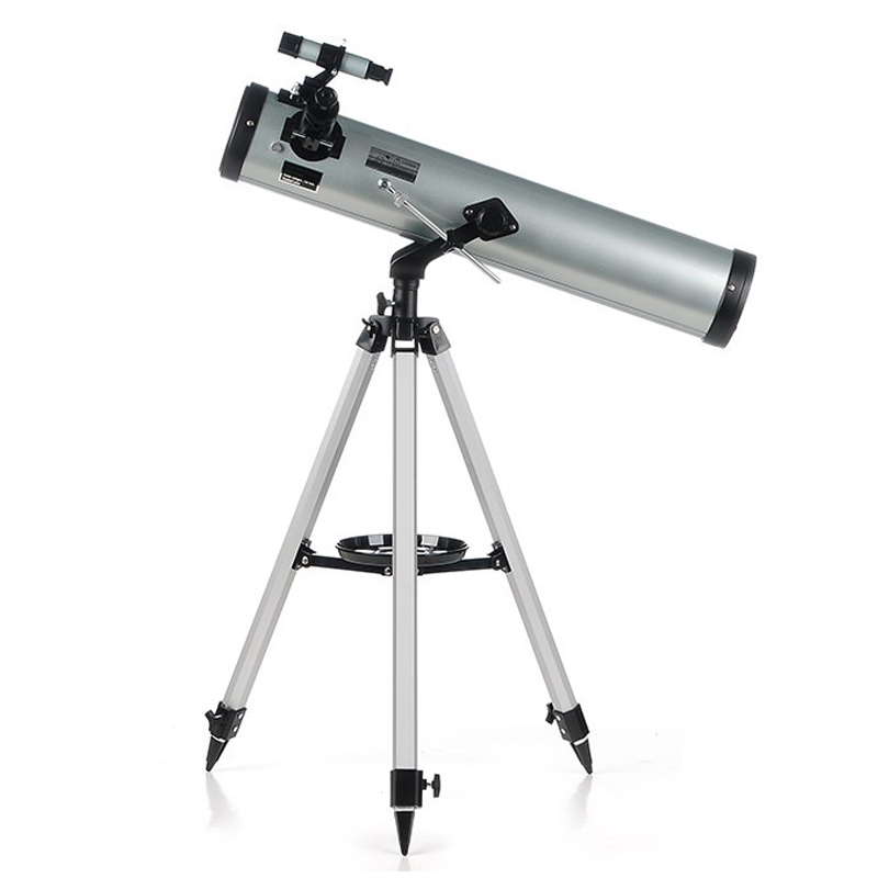 HD Large Aperture 76mm Newtonian Reflector Astronomical Telescope 350 Times Zooming Reflective for Space Observation F76700 pierre richard dahoo infrared spectroscopy of diatomics for space observation