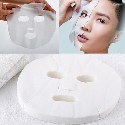 50 Sheets Women White Enlarged Face Facial Care Mask Sheet Cosmetic DIY Kits