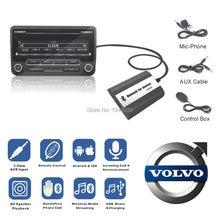 Doxingye USB AUX Bluetooth Автомобильный цифровой музыкальный Cd-переключатель адаптер Автомобильный MP3-плеер для Volvo hu-серия C70 S40/60/80 V70 Интерфейс