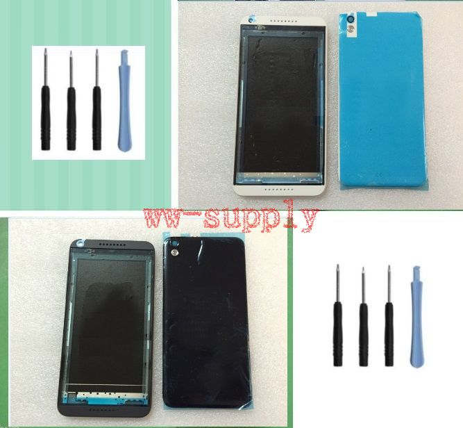 Full Original Housing Front Frame Chassis Back Battery Cover Case for HTC Desire 816 816T 816W
