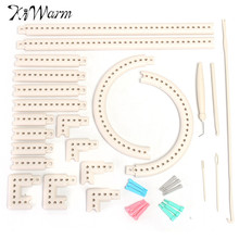 KiWarm Practical Multifunctional 5000-100 Knitting Board Knit and Weave Loom Craft Yarn Kit DIY Scarf Sweater Tools