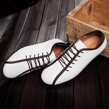 Fashion Men Shoes Leather Shoes Men's Casual Low Fashion Men Oxford Shoe for Men Shoe Hot