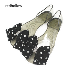 Womens Sandals 2018 Fashion Lady Girl Summer Women Casual Jelly Shoes Bowknot  Flats