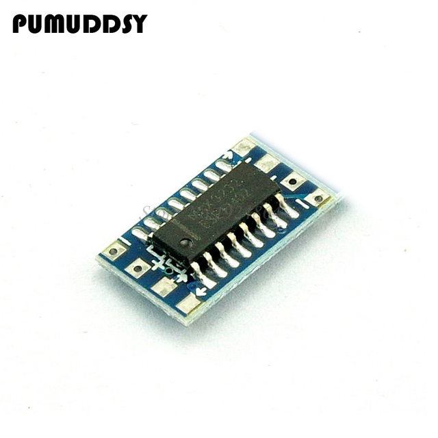 10pcs Mini RS232 MAX3232 Level to TTL Level Board 115200bps Converter Adaptor Module new
