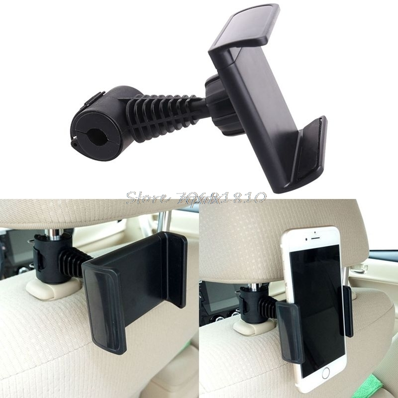 360 Degree Ratating Car/Truck Back Seat Headrest Phone Mount Holder For Cell Phone GPS Whosale&Dropship