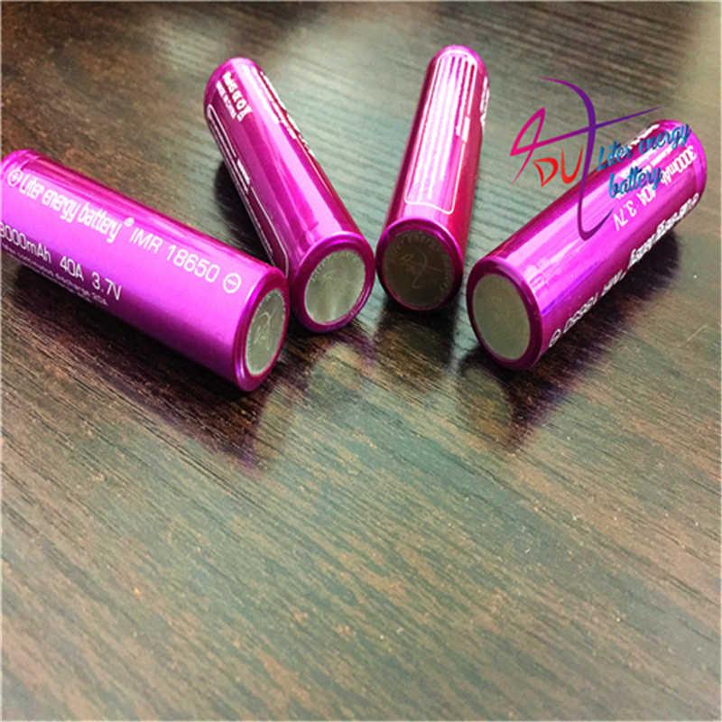 4 unids/lote de baterías de ordenador portátil 3000mah batería recargable para caja de cigarrillos electrónicos MOD de alta calidad con caja de batería de regalo