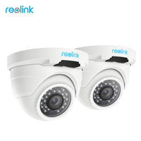 Reolink 2 Pack PoE IP Camera HD 4 0 Megapixels Onvif Night Vision IP Cam RLC4202