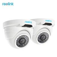 Reolink 2 Pack PoE IP Camera HD 4 0 Megapixels Onvif Night Vision IP Cam RLC4202
