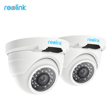 Reolink PoE Ip-kamera HD 4MP Outdoor Indoor Wetter Dome 1440 P Hause Videoüberwachung IR Cam RLC-420-2 (2 paket)
