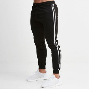 Image 3 - Mens Joggers Casual Pants Fitness Men Sportswear Tracksuit Bottoms Skinny Sweatpants Trousers Black Gyms Jogger Track Pants
