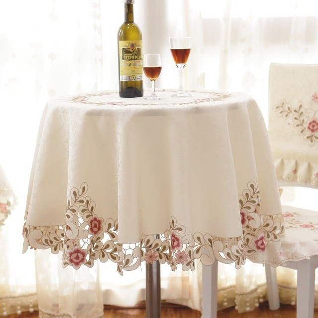 Exceptional Su0026V Top Selling Pastorale European Round Tablecloth Modern Round Tea Table  Cloth Fashionable Embroidered Jacquard Table
