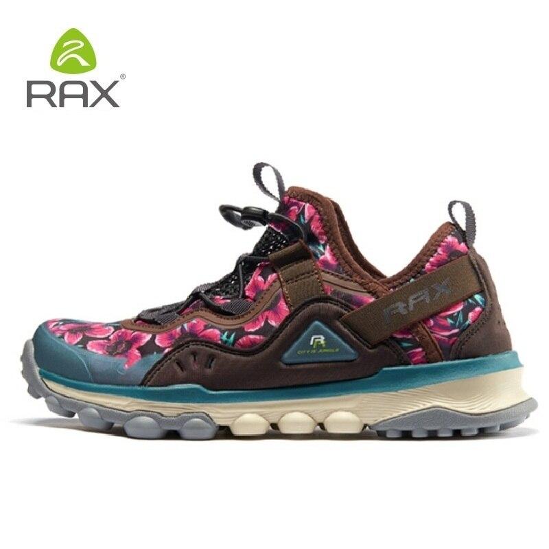 Rax chaussures de randonnée pour femmes en plein air antidérapant respirant Trekking baskets femme tourisme Jogging chaussures de sport de montagne # B2516
