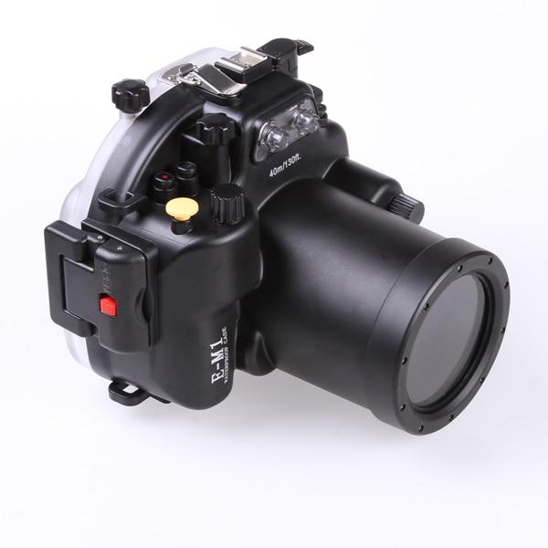 40m/130ft Diving Underwater Waterproof Case Housing for Olympus EM1 w/12-40mm Lens