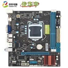 цена на Jiahua Yu new H61 desktop computer motherboard LGA1155  DDR3 USB2.0 16G SATA II