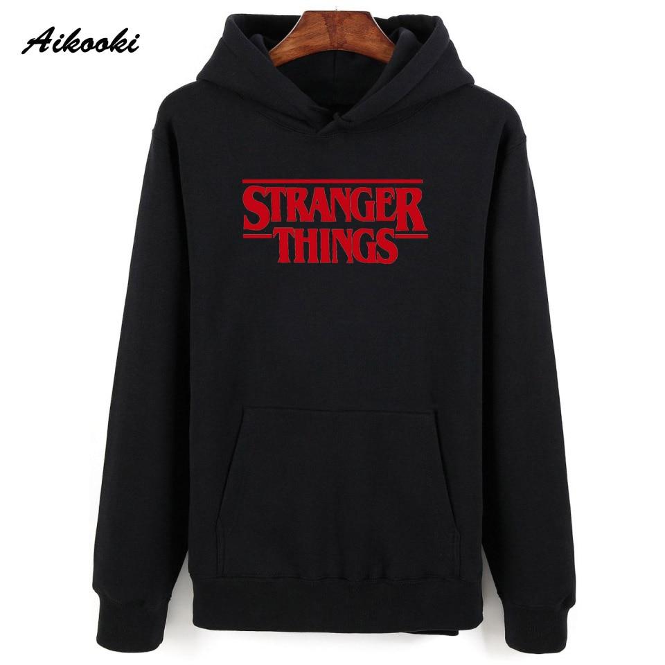 Aikooki Men Hoodie Stranger Things Hoodies Men's Cotton Sweatshirt Stranger Things Sweatshirts Winter Hoodie Women/Men's XXS-4XL
