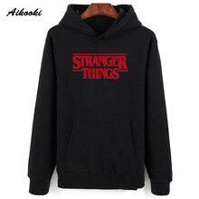 Aikooki Men Hoodie Stranger Things Hoodies Men Sweatshirt women/men Casual Stran