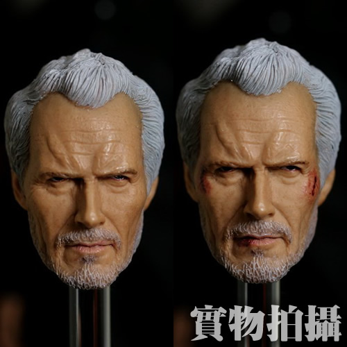 1/6 scale figure doll head shape for 12 action figure doll accessories Oscar director Clint Eastwood male Head carved 1 6 scale figure doll head shape for 12 action figure doll accessories iron man 2 whiplash mickey rourke male head carved