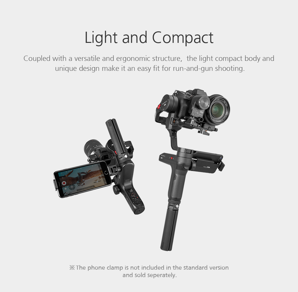 ZHIYUN Official Weebill LAB 3-Axis Image Transmission Stabilizer for Mirrorless Camera OLED Display Handheld Gimbal 3