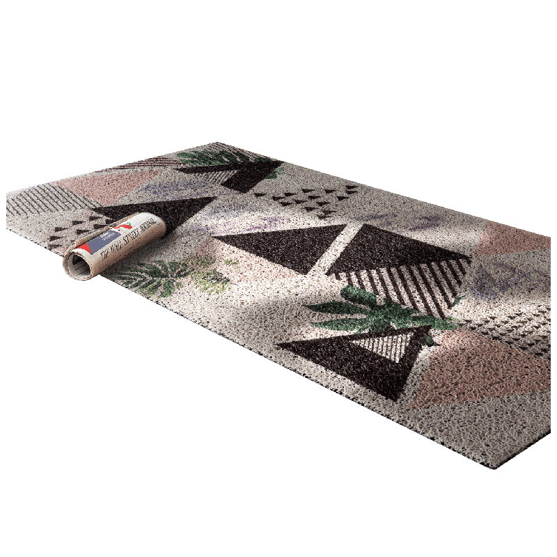 Vente chaude motif géométrique porte tapis tapis de sol pour porche tapis anti-dérapant paillasson décor à la maison couloir entrée tapis de sol - 5
