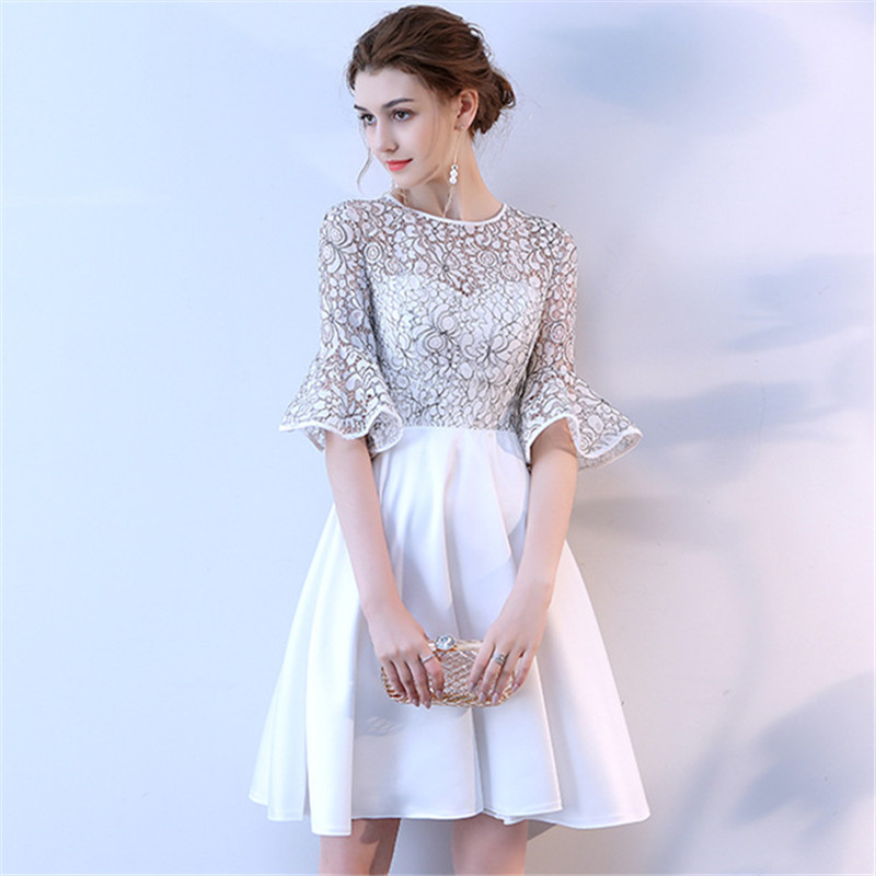 It S Yiiya Short Sleeve Cocktail Dresses 2018 Fashion Designer Flower Pattern High Quality Knee Length Party Dress Lx711 Buy At The Price Of 45 48 In Aliexpress Com Imall Com