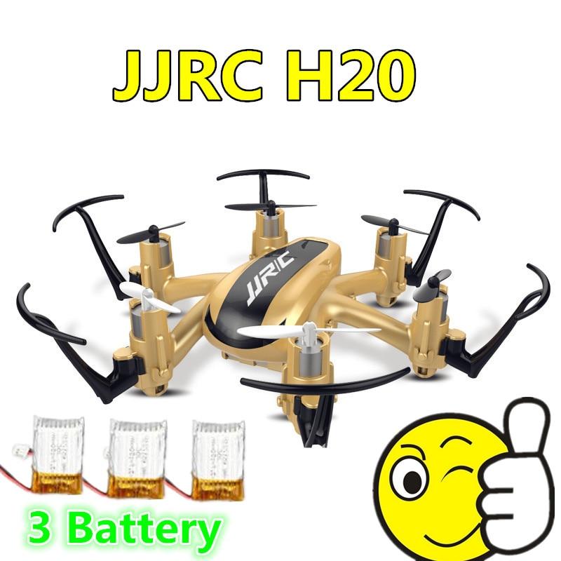 2016 New Mini Pocket Drone JJRC H20 Nano Hexacopter 2.4G 4CH 6Axis Gyro Headless Mode RTF MODE2 Vs H6c X4 X6 Eachine H8 Mini