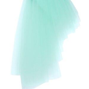 Image 5 - Sequins Phụ Nữ Người Lớn Nữ Spaghetti Dây Đeo Halter Neck Không Thường Xuyên Tulle Ballet Khiêu Vũ Thể Dục Leotard Tutu Váy Biểu Diễn
