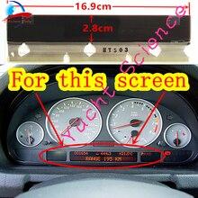 لوحة العدادات استبدال عداد السرعة بكسل إصلاح سيارة شاشة عرض LCD شاشة رصد ل BMW E38 E39 E53 X5