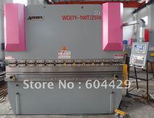 6mm hydraulic plate bending machine,8ft sheet metal bender,3.2 mtr cnc press brake,100 Tons metal plate cnc bending machine