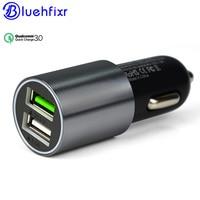 NEUE 2 Port USB Quick 3,0 Schnelles Auto Ladegerät 6A Dual Fast auto Ladegerät für iPhone für Samsung für Xiaomi für IOS Android Universal