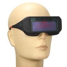 Anti-ultraviolet Fine Quality PC Solar Powered Auto Darkening Welding Glasses Anti-glare for Welding UV Protection