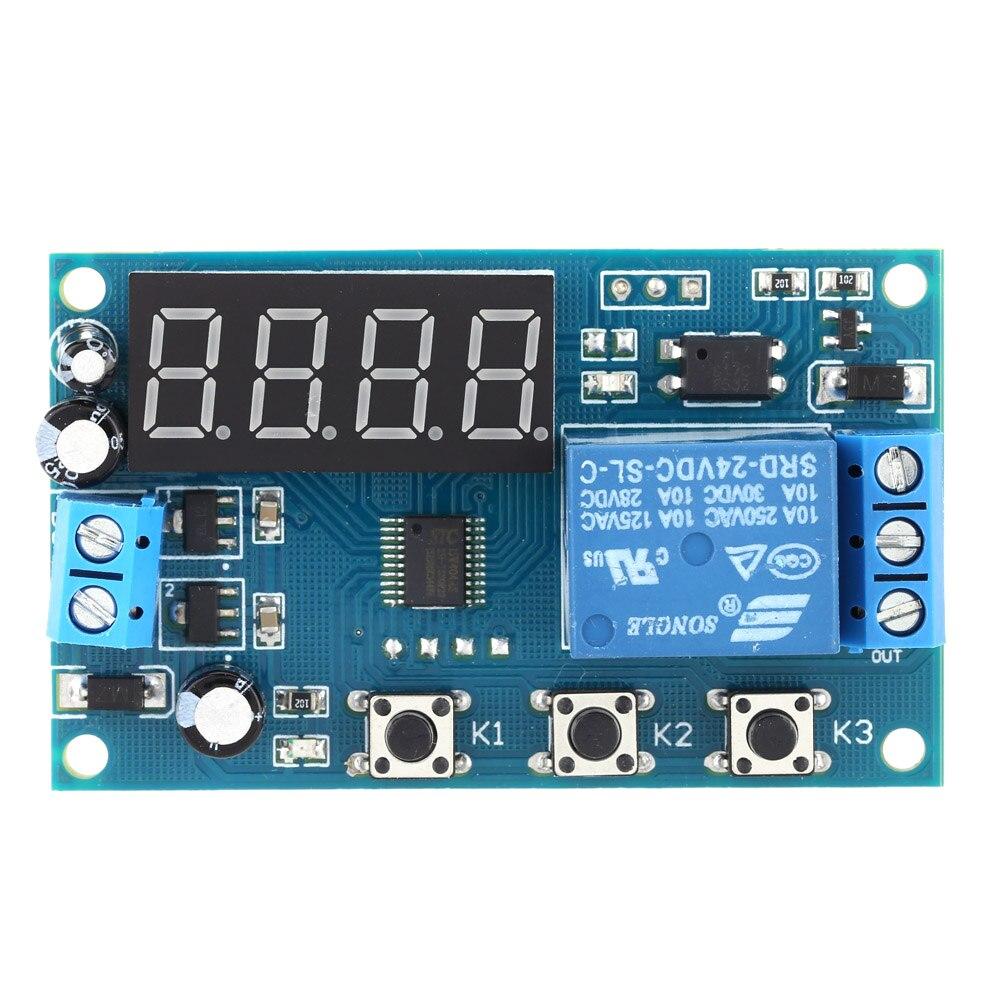 12 V 24v Time Delay Relay Multifunktions Verzgerungszeit Modul Switch Volt Control Relais Zyklus Zeitrelais In