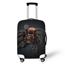 Animal Spider Print Travel Accessories Suitcase Protective Covers 18-32 Inch Elastic Luggage Dust Cover Case Stretchable