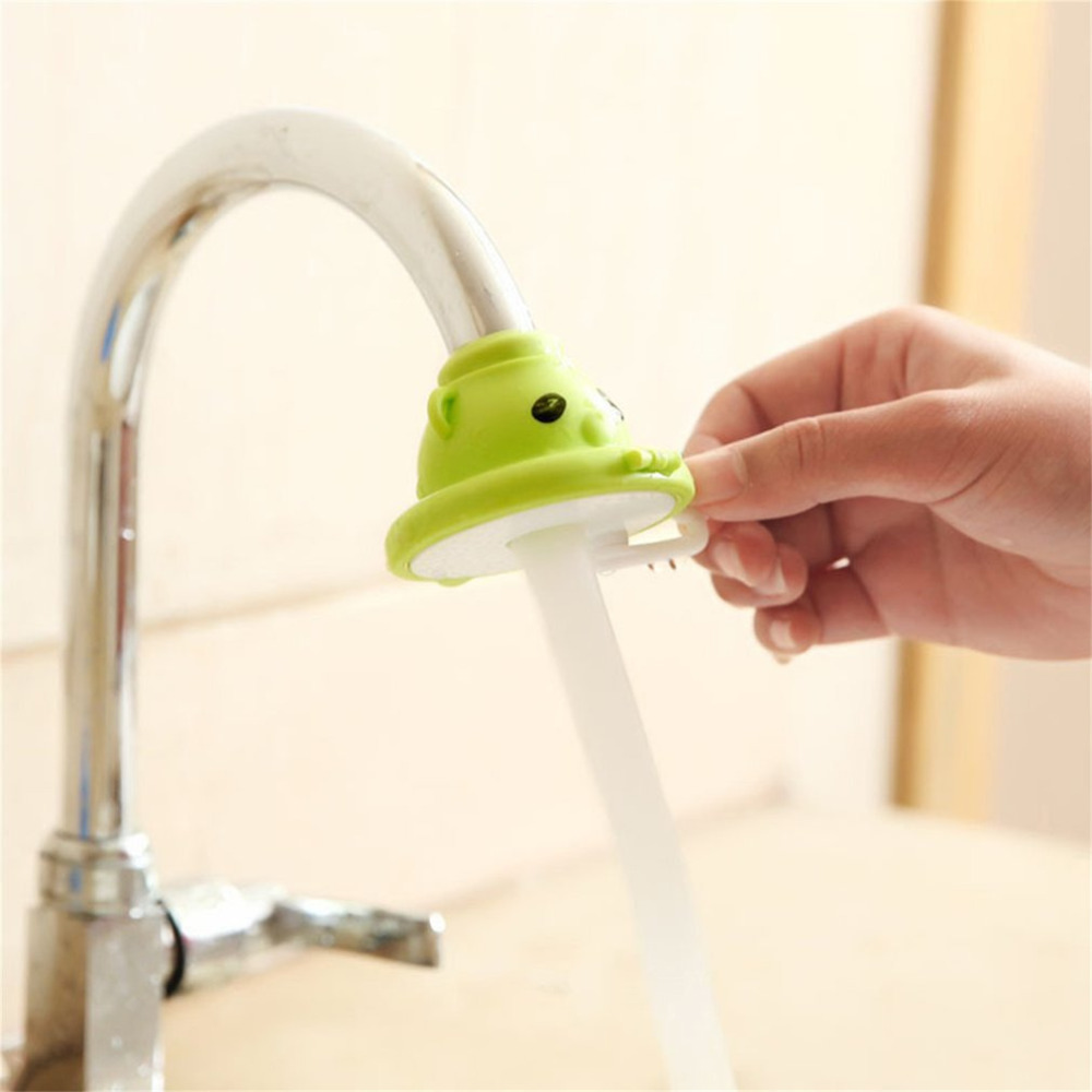 Cartoon Shower Head Faucet Water Filter Kitchen Water Filter Water Splash Kitchen Sink Accessory Faucets Shower Head