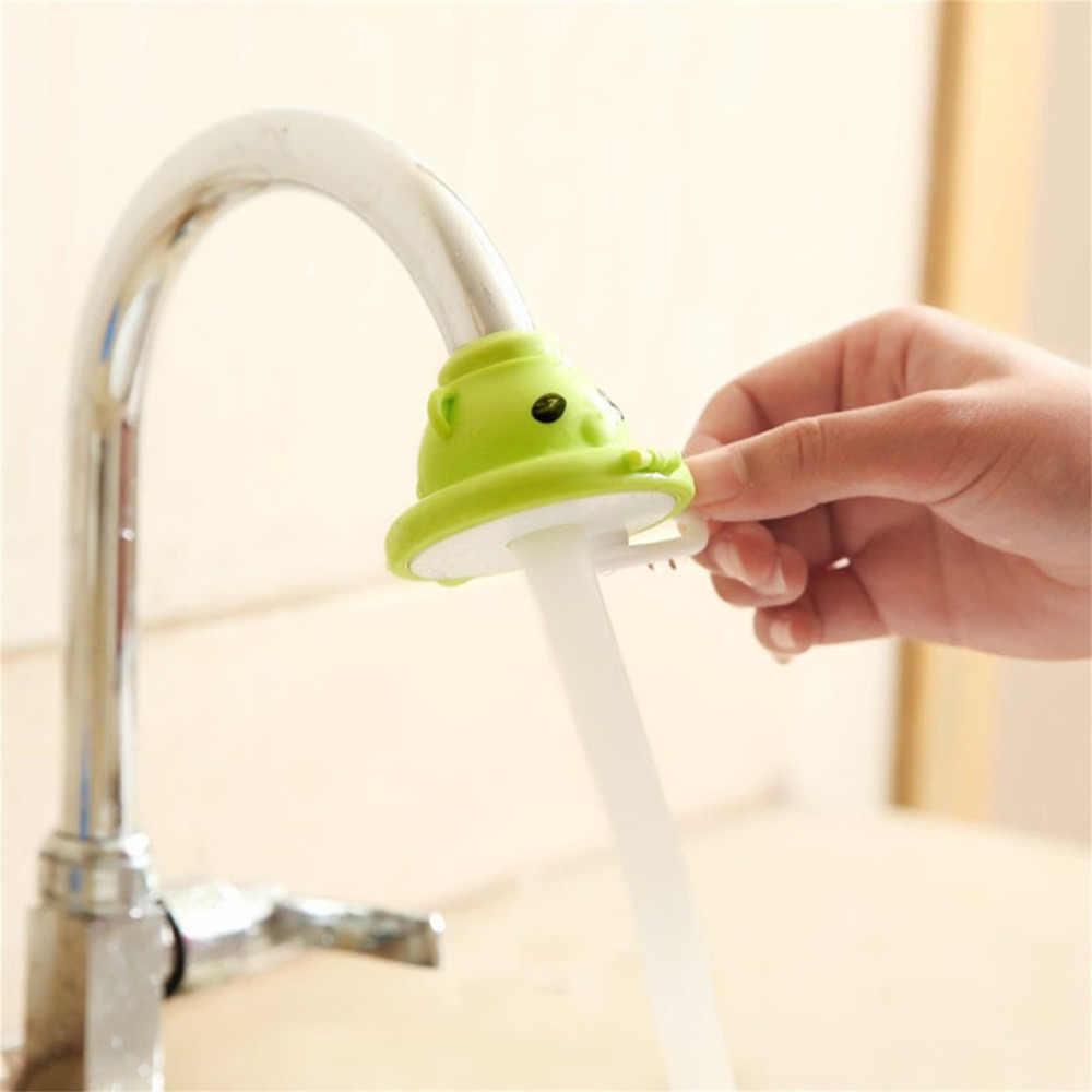 漫画シャワーヘッド蛇口水浄水フィルター水スプラッシュキッチンシンクアクセサリー蛇口シャワーヘッド
