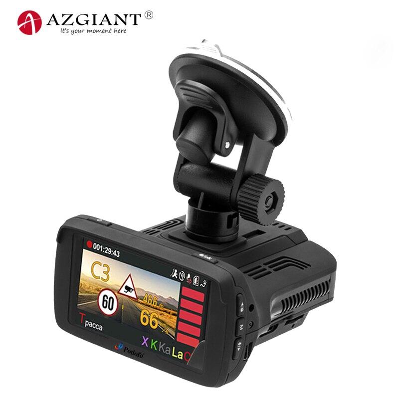 AZGIANT 2.7 pouces Mini 170 degrés grand angle HD vidéo caméra de voiture dvr Ambarella puce Conduite Enregistreur Auto Greffier GPS WDA LDWS