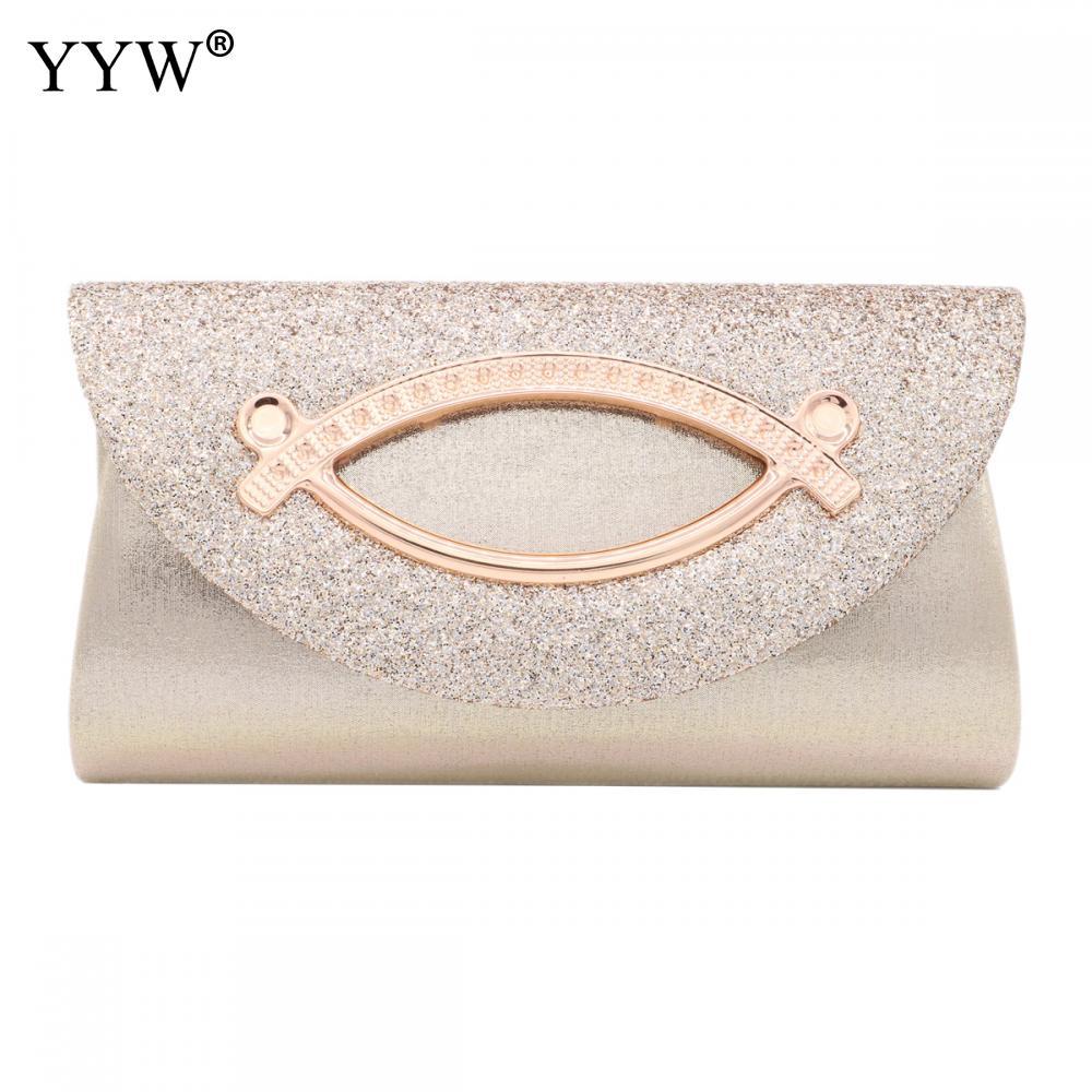 Women Evening Clutch Bag Diamond Sequin Clutch Female