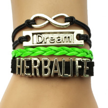 Drop Shipping Herbalife Bracelet- Customized Cosmetics Fashion Jewelry Friend Gift