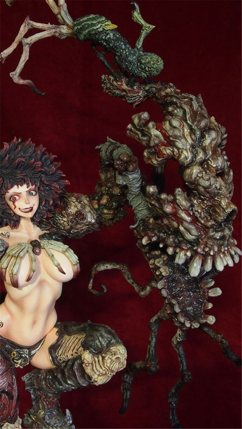 2017 Newest Anime GK GARAGE KIT Sexy Game Girl Nina Dolono white model GK resin model sexy Action Figure Collection Model Toys anime one piece dracula mihawk model garage kit pvc action figure classic collection toy doll