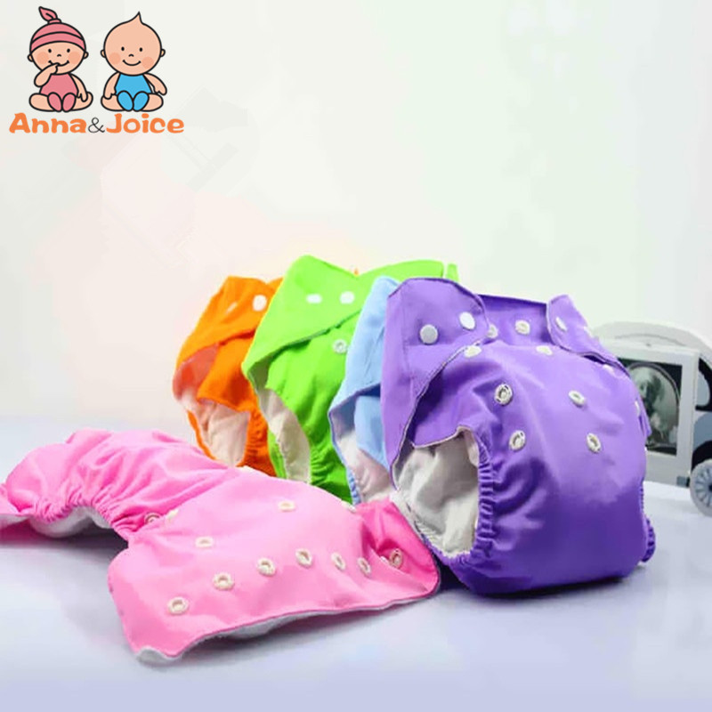 10 Pcs/lot Baby Diaper One-size Adjustable Washable Cloth Diaper Nappy Urine Pants