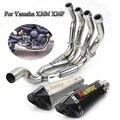 XJ6N полная выхлопная система  труба для мотоцикла  передняя Соединительная труба  соединительный глушитель с DB Killer для Yamaha XJ6N XJ6F